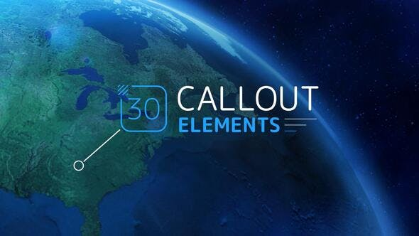 Videohive Callout Elements 24779589 Free Download