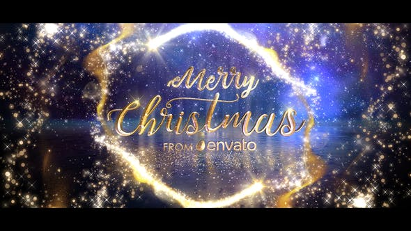 Magical Christmas Wishes Video Animation