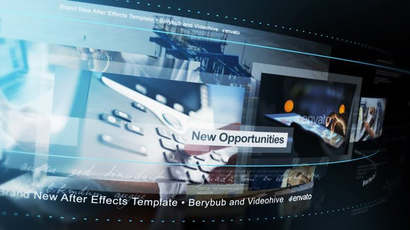 Videohive A Moving World Free Download