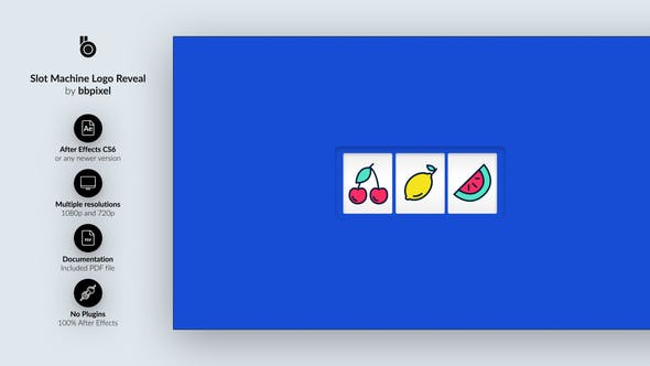 Videohive Slot Machine Logo Reveal Free Download