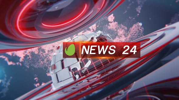 Videohive Broadcast 24News Package 24876665 Free Download