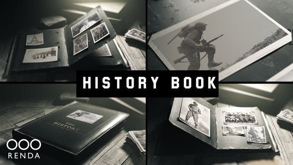 Videohive Old Book History Album 24946550 Free