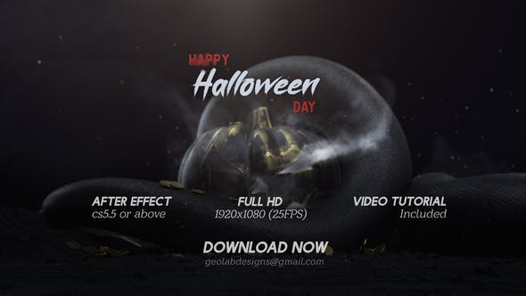 Videohive Halloween Day Free Download