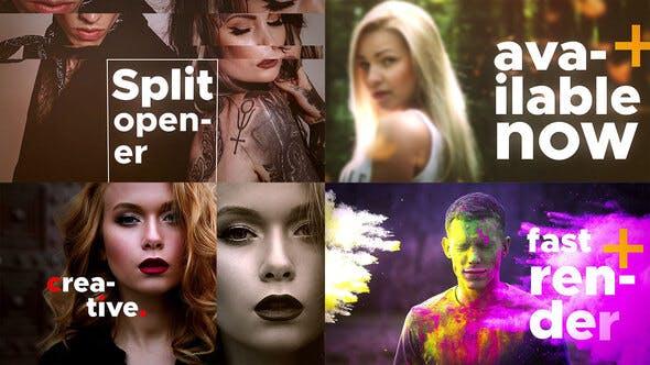 Videohive Split Opener 24975260 Free