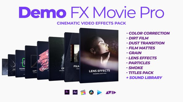 Demo FX Movie Pro cinematic effects