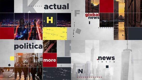 Videohive Global News Intro 24985905 Free