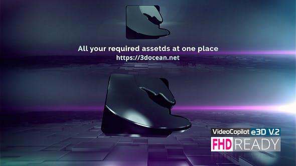 Videohive Clean 3D Logo E3D Free Download