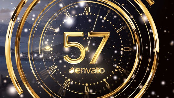 New Year Countdown by livingimagine | VideoHive