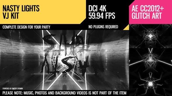 Videohive – Nasty Lights (VJ Kit) 25167067