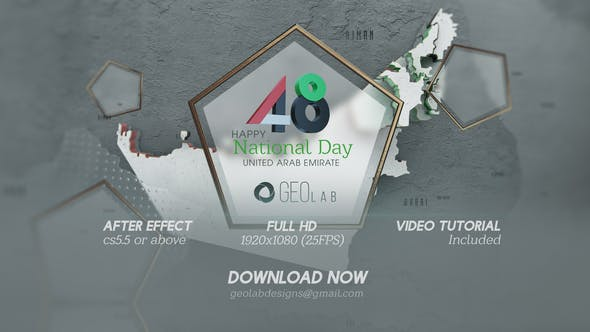 Videohive UAE National Day Template l National Day Celebrations Free Download