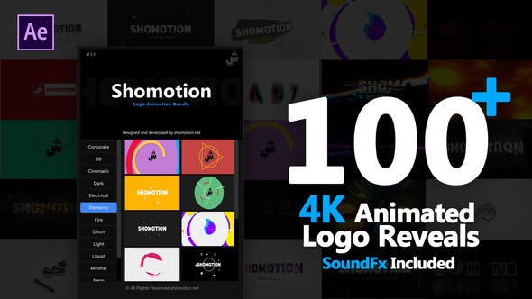 VIDEOHIVE LOGO PACK Free Download