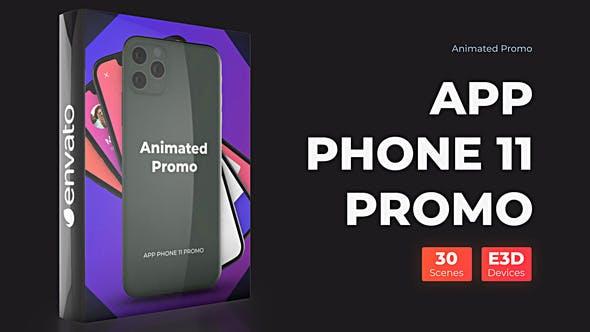 Videohive Phone 11 Pro Max Presentation – App Promo Mockup Free Download