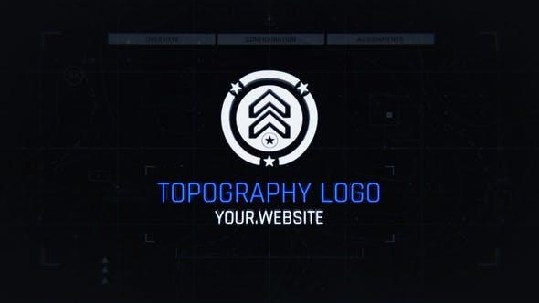 Videohive Topo Logo Reveal Free Download