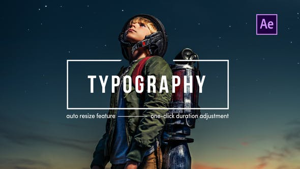 Videohive Typography | After Effects Free Download