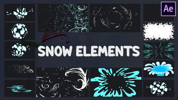 Videohive Cartoon Holiday Elements | After Effects Free Download