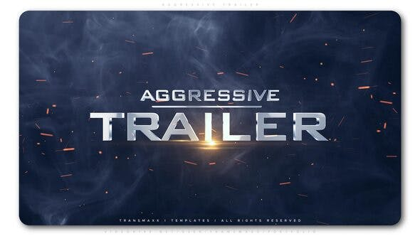Videohive Aggressive Trailer Free Download