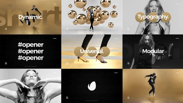 Videohive Short Dynamic Stomp Opener Free Download