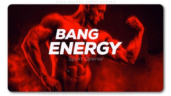Videohive Bang Energy Sport Opener Free Download