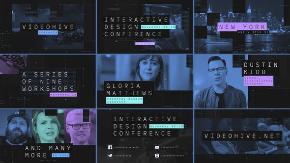 Videohive Interactive Design Conference – Event Promo Free Download