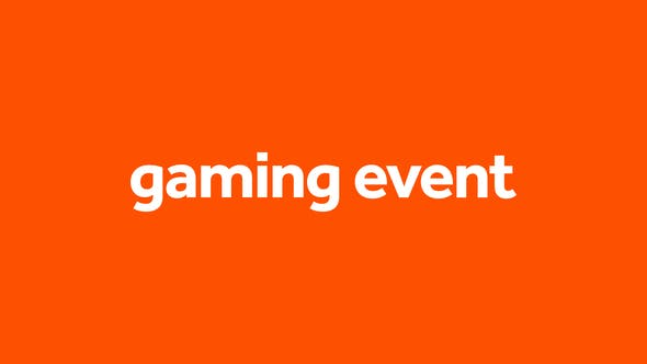 Videohive Gaming Event Free Download