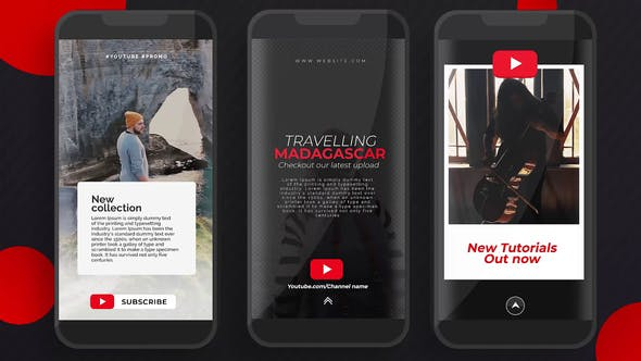 Videohive YouTube Instagram Stories Free Download