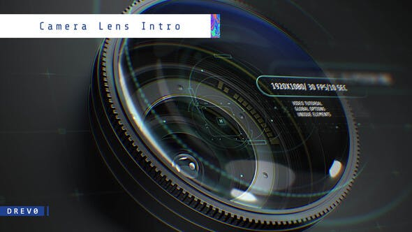 Videohive Camera Lens Intro Free Download