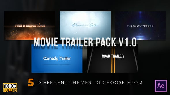 Videohive Movie Trailer Variety Pack v1.0 Free Download
