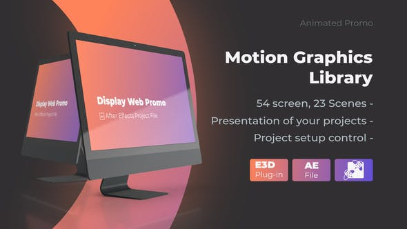 Videohive Animated Screen Website Mockup Promo – iMac Pro Mockup Web Presentation Free Download