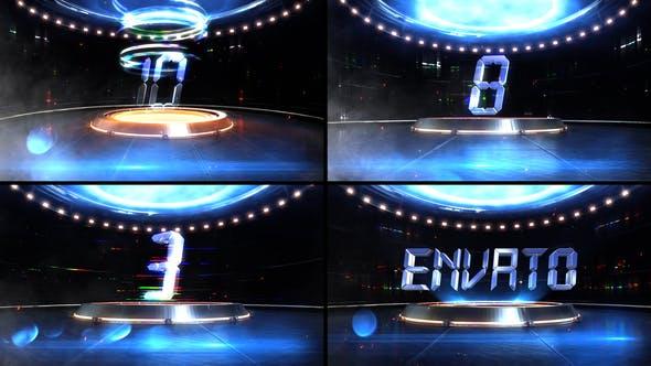 Videohive – Digital Glitch Countdown 25512590