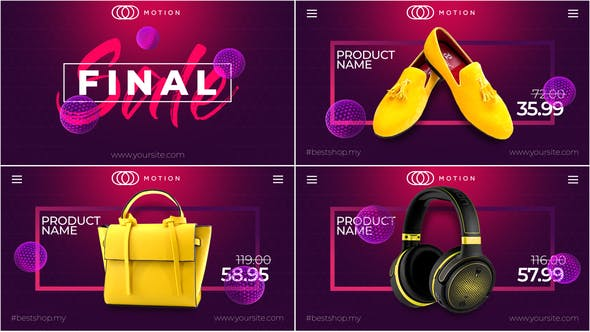 Videohive Final SALE – Online Market Free Download