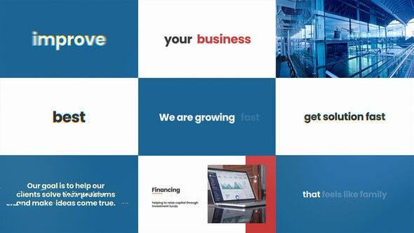 Videohive Stomp Business Promo Free Download