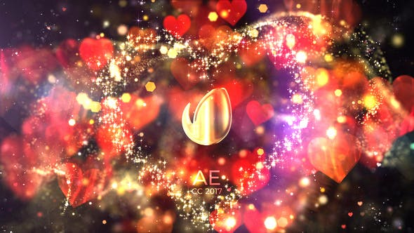 Videohive Glitter Love Titles Free Download