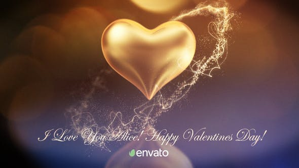 Videohive Valentine's Day Greetings Free Download