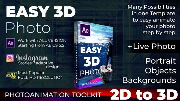 Photo Animator Easy 3d Photo By Studio 84 Videohive
