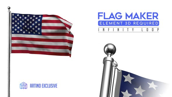 Videohive Flag Maker 25588451 Free Download