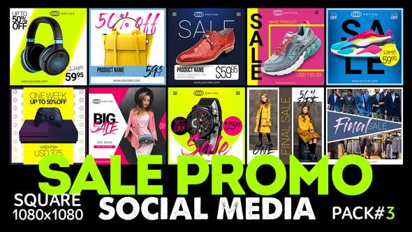 Videohive Social Media – SALE Promo Free Download