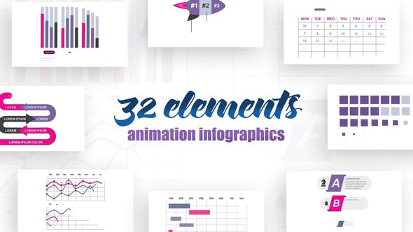 Videohive Infographics vol.14 Free Download