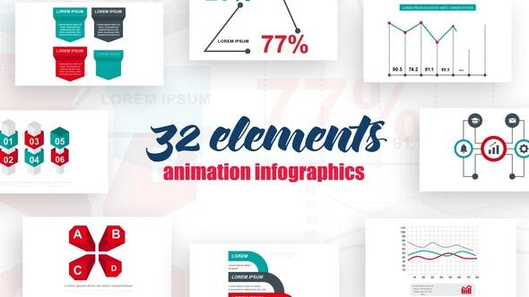 Videohive Infographics vol.15 Free Download