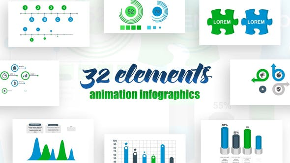 Videohive Infographics Vol.17 Free Download