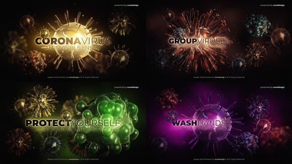 Videohive Corona Virus Opener Free Download