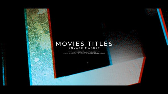 Videohive New Project Movies Titles Free Download