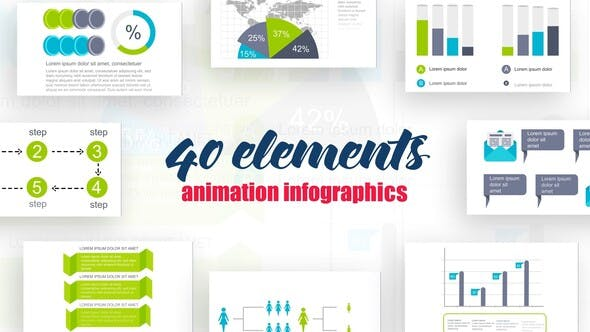 Videohive Infographics Vol.18 Free Download