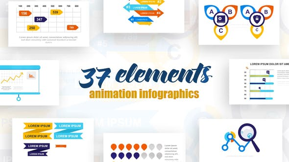 Videohive Infographics Vol.19 Free Download