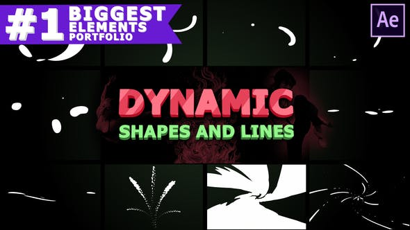 Videohive Dynamic Shapes and Lines | After Effects Free Download