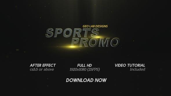 Videohive Sports Promo l Sports Titles l Sports Trailer Free Download