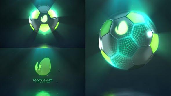 Videohive Hi-Tech Soccer | Logo Reveal Free Download