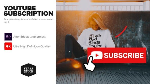 Videohive YouTube Subscribe Like Get Notified Promotion Kit Free Download