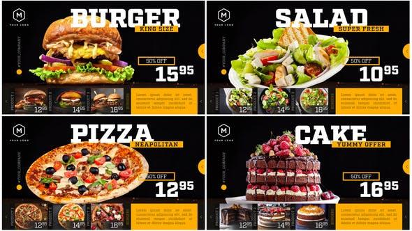 Videohive Restaurant Menu – Food Promotion Free Download