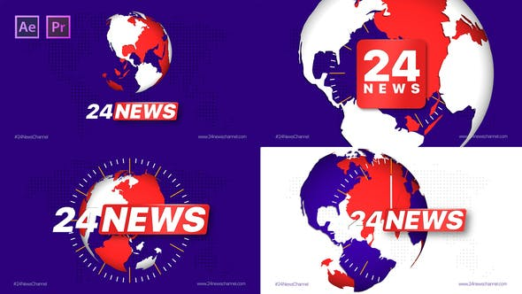 Videohive Broadcast 24 News Channel Free Download