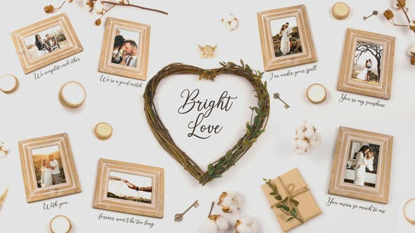 Videohive Bright Love Free Download